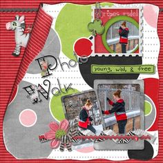 Kathryn Estry Creative Team Layout with Zebras In Charge Digital Scrapbooking Collection @ PickleberryPop  https://www.pickleberrypop.com/shop/product.php?productid=48361&page=1