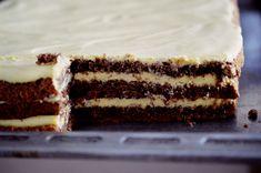 Prajitura cu blat de cacao si crema de mascarpone - Rețete Papa Bun Food Cakes, Nutella, Tiramisu, Jasmine, Cake Recipes, Bacon, Ethnic Recipes, Sweets, Mascarpone