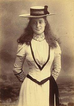 Princess Ka'iulani in London, 1895 (Bishop Museum Archives)