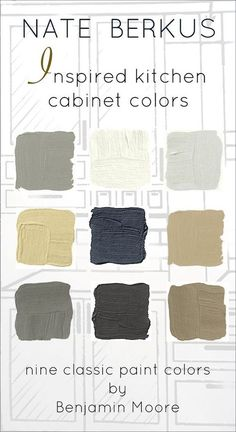 The Surprising Thing That Nate Berkus Said About Design Trends - laurel home   and nine fabulous Benjamin Moore colors for custom cabinets. It's not published anywhere else.
