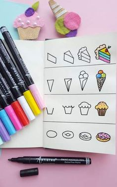 easy drawing drawings artistro markers marker guide draw simple