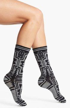 Women Crew Socks Thigh High Knee Whiskey Long Tube Dress Legging Casual Compression Stocking