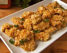 Healthy Oven-Baked Chicken Tenders... Happy Hour Appetizers 96   Hampton Roads Happy Hour