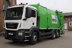 Śmieciarka trzykomorowa NTM KG2B-FK na podwoziu MAN TGS w MPGK Stargard Szczeciński