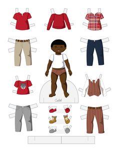 Paper Doll School: Toddler Fashion Friday - Caleb