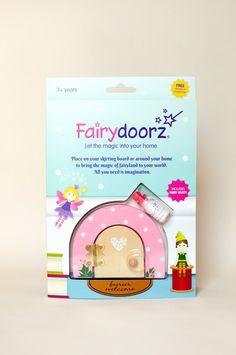 Pink Sherbet Dotty fairy door
