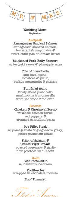 eno' sample wedding menu pp www. Chilli Jam, Sweet Chilli, Buffalo Mozzarella, Pineapple Salsa, Brown Bread, Jam On, Basil Pesto, Wedding Menu, Smoked Salmon