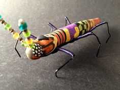 Insect Sculpture Bug Sculpture Insect Art  (LONGBUG-0001). $50.00, via Etsy.