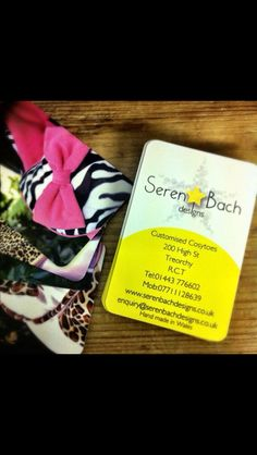 Seren Bach Designs Business cards, come find us in store! Or just simply check out our work online at www.serenbachdesigns.co.uk