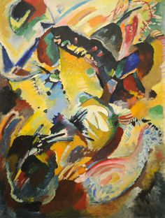 Panel for Edwin R. Campbell No. 2 Vasily Kandinsky (French, born Russia. 1866-1944). MoMA, NYC | by renzodionigi