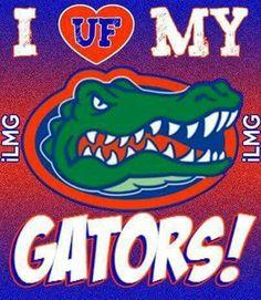Love those Gators! Florida Gators Room, Florida Gators Wallpaper, Fla Gators, Florida Gators Football, Florida Girl, Old Florida, Florida Georgia, Gator Football, College Football