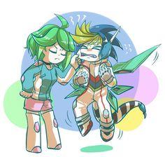 Rin and Yugo