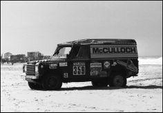 Paris Dakar 1985 Land Rover