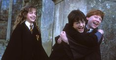 Who's birthday party did Harry, Ron, and Hermione go to in The Chamber of Secrets? Harry Potter Hermione, Hermione Granger, Draco Malfoy, Harry Potter Quiz, Harry Potter Houses, Albus Dumbledore, Severus Snape, Neville Longbottom, Ron And Harry