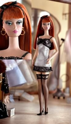 Fashion Model #6.  Last doll my dear mum and I redressed.  I will cherish her forever!