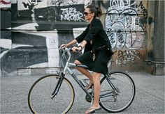 Woman-and-Bike