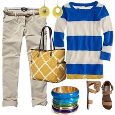 Yellow, created by kettlebelle on Polyvore