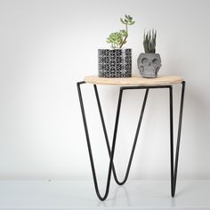 Black Metal Stool Couch Table, Metal Stool, Black Metal, Industrial Style, Entryway Tables, Steel, Wood, Furniture, Products