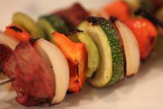 Steak Kabobs with Kick-Butt Avocado Sauce