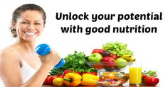 Unlock your potential with good nutrition - Nutrition Slogans
