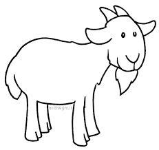 Afbeeldingsresultaat voor geit knutselen