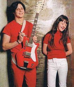 """: """"The White Stripes, 2001 """" Meg White, Jack White, Red And White, Seven Nation Army, The White Stripes, White Strips, Shades Of White, Paramore, Green Day"""