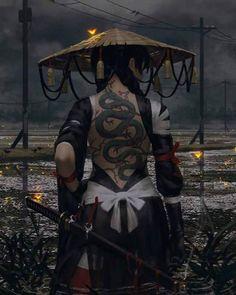 The spirit of the samurai photography – … - Fantasy Figuren Fantasy Artwork, Anime Art Fantasy, Fantasy Girl, Art And Illustration, Botanical Illustration, Character Inspiration, Character Art, Character Concept, Ronin Samurai