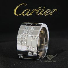 Cartier-Lanieres-18k-White-Gold-Diamond-Ring-Size-56-7-5-US