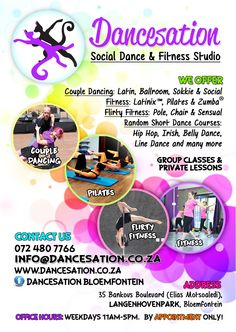 28 best dance fitness flyers posters images on pinterest dance