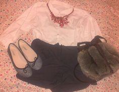 Bimba y Lola shoes, Sfera bag and Mango shorts.