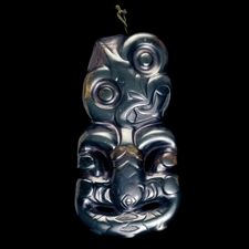 Maori probably or early century AD From New Zealand Polynesia Whale Rider, Maori Symbols, Maori Tribe, New Zealand Tattoo, Maori People, Maori Designs, Tiki Art, Free To Use Images, Maori Art