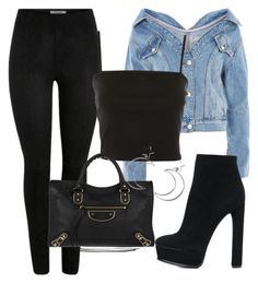 A fashion look from November 2017 featuring cropped shirts, blue jean jacket and heeled ankle boots. Browse and shop related looks. Tv Show Outfits, Teen Fashion Outfits, Cute Casual Outfits, Girly Outfits, Mode Outfits, Look Fashion, Chic Outfits, Girl Greaser Outfit, Shadowhunters Outfit