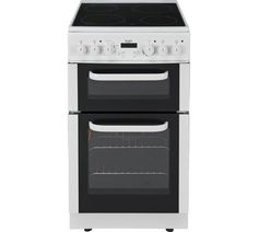 Buy Bush BETC50W Electric Cooker- White at Argos.co.uk, visit Argos.co.uk to shop online for Freestanding cookers, Cooking, Large kitchen appliances, Home and garden