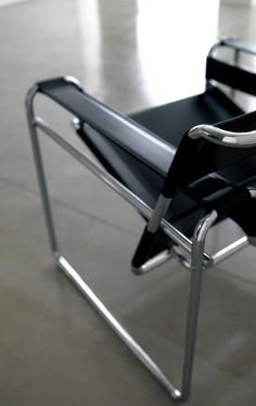 Made in Italy the Wassily Chair - designed by Marcel Breuer in 1925