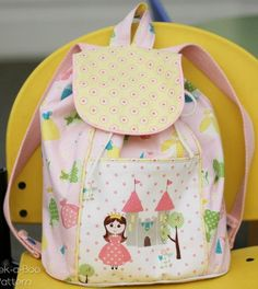 Pre-School Adventurer Backpack - PDF Pattern by Peek A Boo Patterns
