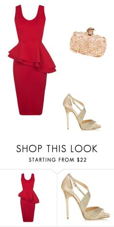 """""""Untitled #13448"""" by danisalalkamis ❤ liked on Polyvore featuring Jimmy Choo, Alexander McQueen, women's clothing, women, female, woman, misses and juniors"""