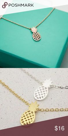 NEW Gold Pineapple Necklace New In Package Gold Color Pineapple Necklace Jewelry Necklaces
