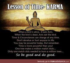 How karma actually works