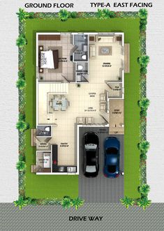 Elegant Private Residence Rgr House by Archinow Duplex House Design, Duplex House Plans, Modern House Design, House Map, My House, Indian House Plans, Villa Plan, Two Storey House, Indian Homes