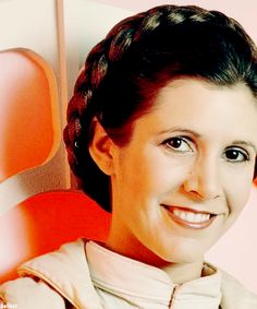 Carrie Fisher is so beautiful.... Why she ruined her life, I will never know. :/