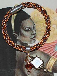 Ochun Oshun Honey colored  Modern Bracelet by ModernOrisha on Etsy, $8.00