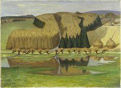 The Flooded Meadow John Northcote Nash Mountain Landscape, Landscape Art, Landscape Paintings, Aberdeen Art Gallery, John Nash, Museum Art Gallery, Post Impressionism, Art Uk, Cool Landscapes