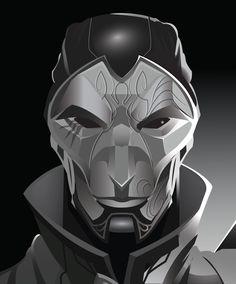 Jhin O Virtuoso  - Fan Art  -  League of Legends