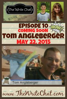 Mark your calendars! The Write Chat:Friday, May 22, 2015! Erik & Felicia (co-hosts of http://www.TheWriteChat.com) interview Tom Angleberger View all Prior Episodes: https://www.youtube.com/playlist?list=PLXDRYii1_FTQNcGIs0bMgOYQF2LFnjdfV Co-host websites: Erik: http://thiskidreviewsbooks.com/    Erik's Book:  http://thiskidreviewsbooks.com/check-out-my-book/ Felicia: http://www.stanleyandkatrina.com/   Felicia's Books: http://www.stanleyandkatrina.com/p/where-to-purchase-our-book.html Guest…