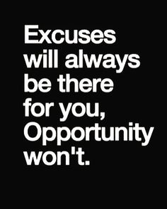 Excuses are the lies your fears have sold you.  #excuse #opportunity #lies #fear #sold #you #live #life #brave #fearless #grow #quote #quotes #quoted #quotesdaily #quotesandsayings #quotestagram #quotestags #quoteoftheday #quotestoliveby #quotesforchange #tagafriend #repost #share