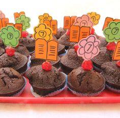 Simple Birthday Shavuos Cupcakes #Shavuot