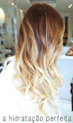 Dark to light blonde