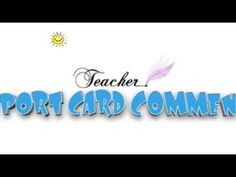 Video presentation of the 180 page Report Card Comments collection at www.TimesaversForTeachers.com.