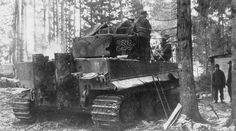 Tiger 233 and crew, Courland Forrest late 1944 | by WW2 Panzer
