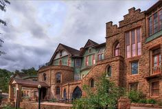 Beautiful Miramont Castle is a museum located in Manitou Springs, Colorado. The Castle was originally built in 1895. Wedding & tours with a tea room.